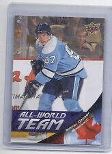 11-12 2011-12 UPPER DECK SERIES 1 SIDNEY CROSBY SP ALL-WORLD TEAM AW34 PENGUINS
