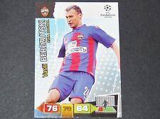 BEREZUTSKI CSKA MOSCOU UEFA PANINI CARD FOOTBALL CHAMPIONS LEAGUE 2011 2012
