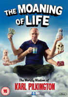 The Moaning of Life DVD (2013) Karl Pilkington cert 15 2 discs ***NEW***