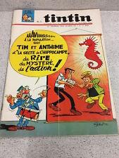 TINTIN  N°908 18e ANNEE  17 MARS 1966 REVUE MAGAZINE VINTAGE