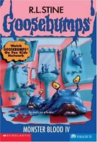 Monster Blood IV (Goosebumps No. 62) by R.L. Stine