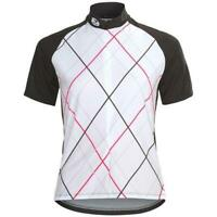 Sugoi Cycling Roxie Jersey, Women's Size Medium, White, Black, Pink, New
