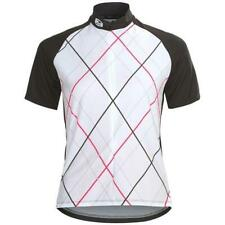 Sugoi Cycling Roxie Jersey, Women's Size Medium, White, Black, Pink, New