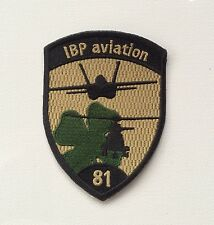 IBP aviation 81 Swiss Military Patch