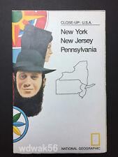 ORIGINAL 1978-01 JANUARY National Geographic MAP SUP CU USA: NorthEast NY-NJ-PE
