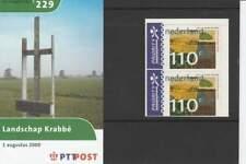 PTT Mapje 2000 Nummer 229: Landschap Jeroen Krabbe