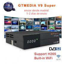 GTmedia V9 Super Digital TV Satellite Receiver DVB-S2 H.265 Built with Wifi