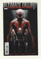 Ultimate Fallout # 1 Spiderman No More 2011 Marvel Comics VF- Miles Morales
