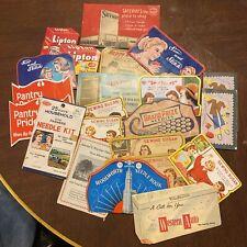 Vintage Lot Advertising Sewing Needles Kits