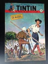 Journal Tintin N° 22 1951 TBE Weinberg