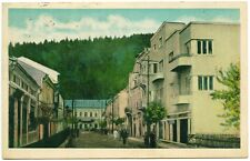 Romania Bukowina Vatra Dornei ,1938 Street scene,nice & rare postcard