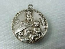 Vintage Sterling Catholic Religious MARY & BABY JESUS one side JESUS other Charm