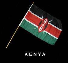 KENYA KENIAN Hand Waver Flag - 30x45cm