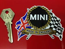 MINI Made In England Flags & Scroll style car sticker Cooper S 1275GT