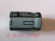 10 x 10V 1000uF 105°C electrolytic radial Capacitor