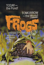 Frogs Vintage Movie Poster -24x36