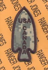 US Army 1st Special Service Force 1SSF USA Canada shoulder OEF ACU patch