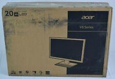 "Acer V206HQL 20"" (Actual size 19.5"") 1600 x 900 HD+ 5ms (GTG) 60Hz VGA DVI"