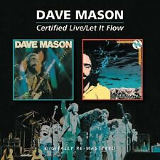 Dave Mason - Certified Live / Let It Flow [New CD] UK - Import