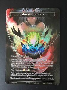 Force of Will Memoria De Pricia Foil Full Art