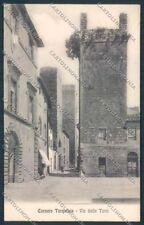 Viterbo Corneto Tarquinia cartolina RB1380