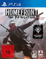Homefront: The Revolution Day One Edition Ps4 (Sony PlayStation 4 2016) NEU OVP