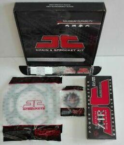 Kit/trasmissione Honda Transalp/650 JT Sprockets catena 525 corona 48 pignone 15