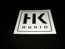 HK Audio Elements 4x4 Factory Sticker