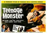 Kino # Merchandising # Film-Postkarte # Teenage Monster # Moviedrome