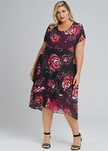 ts  Taking Shape Dress Size 18 Spring it on Four Weddings and a print Style NWT