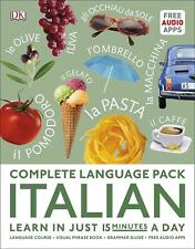 Complete Language Pack Italian: Learn in just 15 minutes a day by DK
