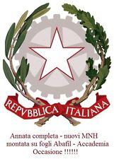 Repubblica - 2001 - Annata completa nuova - MNH - su fogli ABAFIL