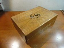 BOLEY Wooden Box for 8mm Lathe Collets