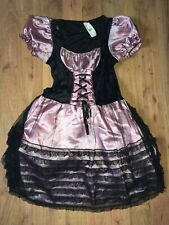 Wicked Witch Bo Peep HALLOWEEN COSTUME Sexy HOOP SKIRT Womens One Size S M L