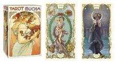 Mucha Tarot NEW Sealed Art nouveau images 78 color cards instructions P. Alligo