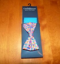 CROFT & BARROW BOWTIE + POCKET SQUARE Men's Ties Mens BOW TIE NEW WITH TAGS