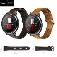22mm HOCO Genuine Leather Strap For AMAZFIT Pace 2 Huawei Watch GT 2 Watch Band