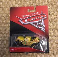 DISNEY Pixar Cars 3 Diecast Veicolo Taco Auto Nuovo e Inscatolato thunderhollow Crazy 8