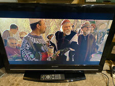 sharp lc-32d12e 32 inch Freeview LCD TV  hdmi scart Television w/ remote