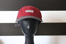 33408a5a8f7 CONVERSE Red Gray Baseball Cap StrapBack 100% Cotton One Size