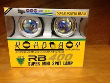 UNIVERSAL PIAA LIKE ROUND SUPER POWER 55W HALOGEN DRIVING/FOG LIGHTS RB-400
