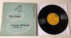"""RARE LP10"""" LENNIE NIEHAUS VOLUME 2 THE OCTET ORIGINAL 1954 US CONTEMPORARY C2517"""
