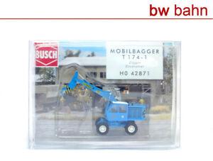 Busch 1:87 H0 42871 Weimar Mobilbagger T174-1 Bagger