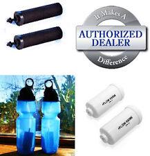 2 Berkey Black Water Filters  & 2 PF-2 Filters - w/ 2 Purifier Sport Bottles
