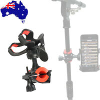 Universal Microphone Mic Stand Clamp Mount Holder for iPhone Samsung Smart Phone