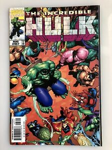 """INCREDIBLE HULK #467  AUG 1998  Marvel Comics """"The Lone and Level Sands"""""""