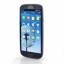 "Azul 4.8"" Samsung Galaxy SⅢ I9300 16GB 8MP GPRS 3G Radio Libre Telefono Movil"