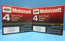 Set(8) Genuine Ford Motorcraft Spark Plugs SP433 OEM# AGSF32WM 4.6L V8 Expedited