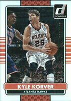 2014-15 Donruss Stat Line Season Atlanta Hawks Basketball Card #174 Kyle Korver