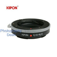 Kipon Adapter for Contax G CG Lens to Nikon Z Z6 Z7 Full Frame Mirrorless Camera